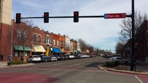 Main Street in Norman, OK
