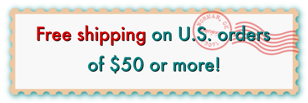Free shipping on U.S. orders of $50 or more!