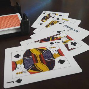A really, really good Euchre hand (assuming spades are trump)