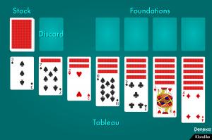 Klondike layout