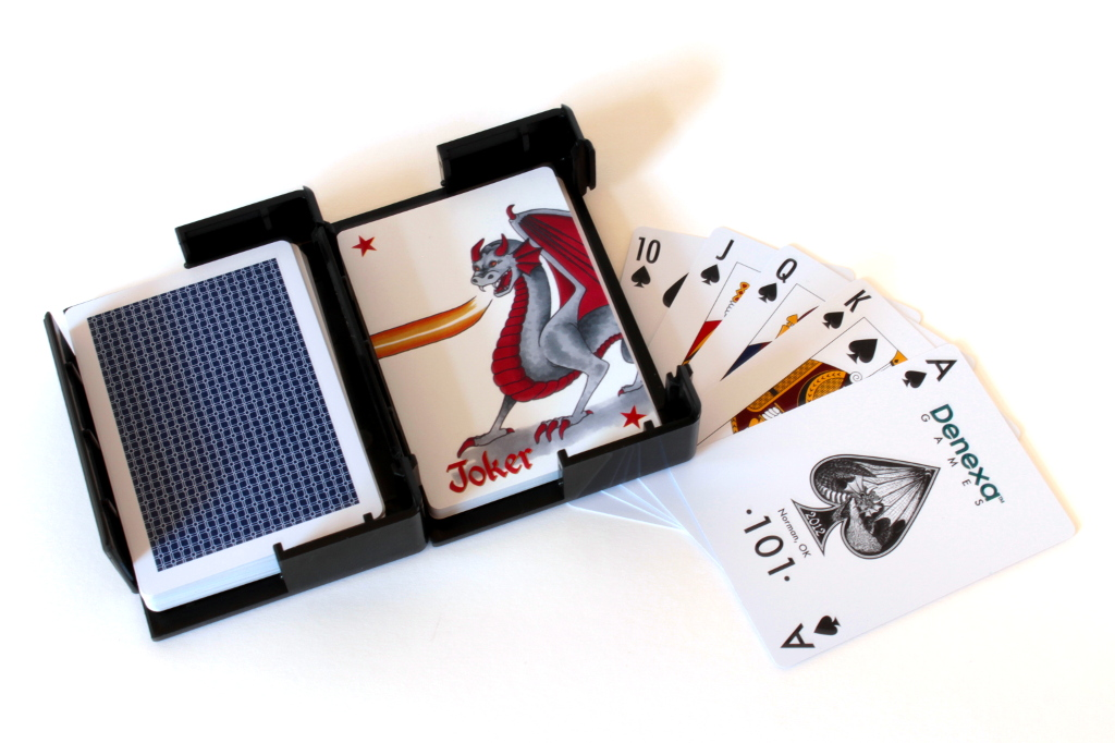 Adventurer's Pack travel playing cards