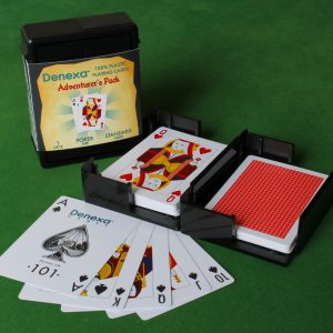 Denexa 100% Plastic Playing Cards: Adventurer's Pack