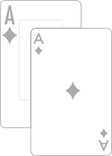 Playing card index difference